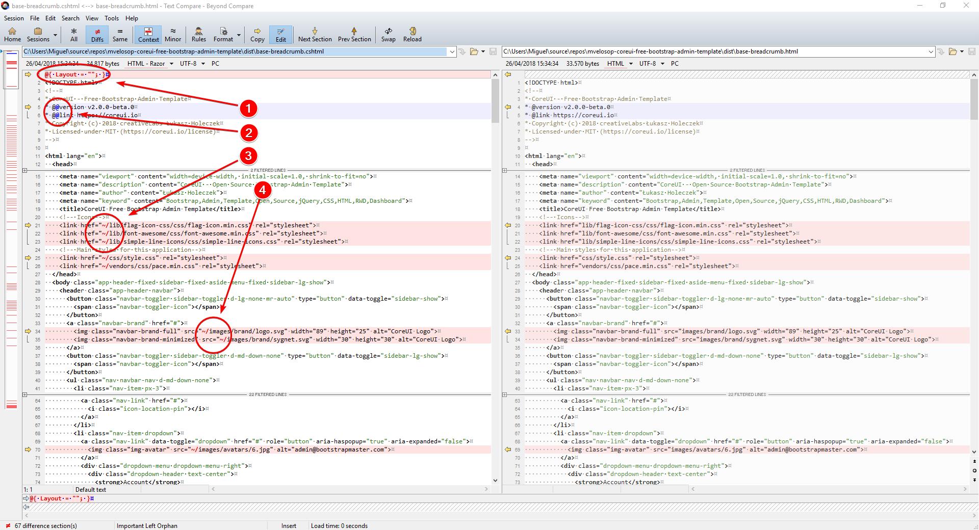 Construyendo aplicaciones elegantes con ASP.NET Core MVC 2.1 y CoreUI 2 (Bootstrap 4) /posts/images/BCompare_2018-04-26_15-53-10.png