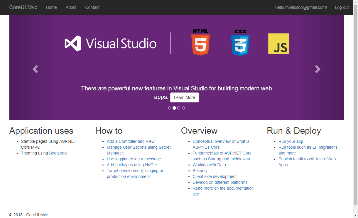 Building elegant applications with ASP.NET Core MVC 2.1 and CoreUI 2 (Bootstrap 4) /posts/images/chrome_2018-04-08_14-58-08.png