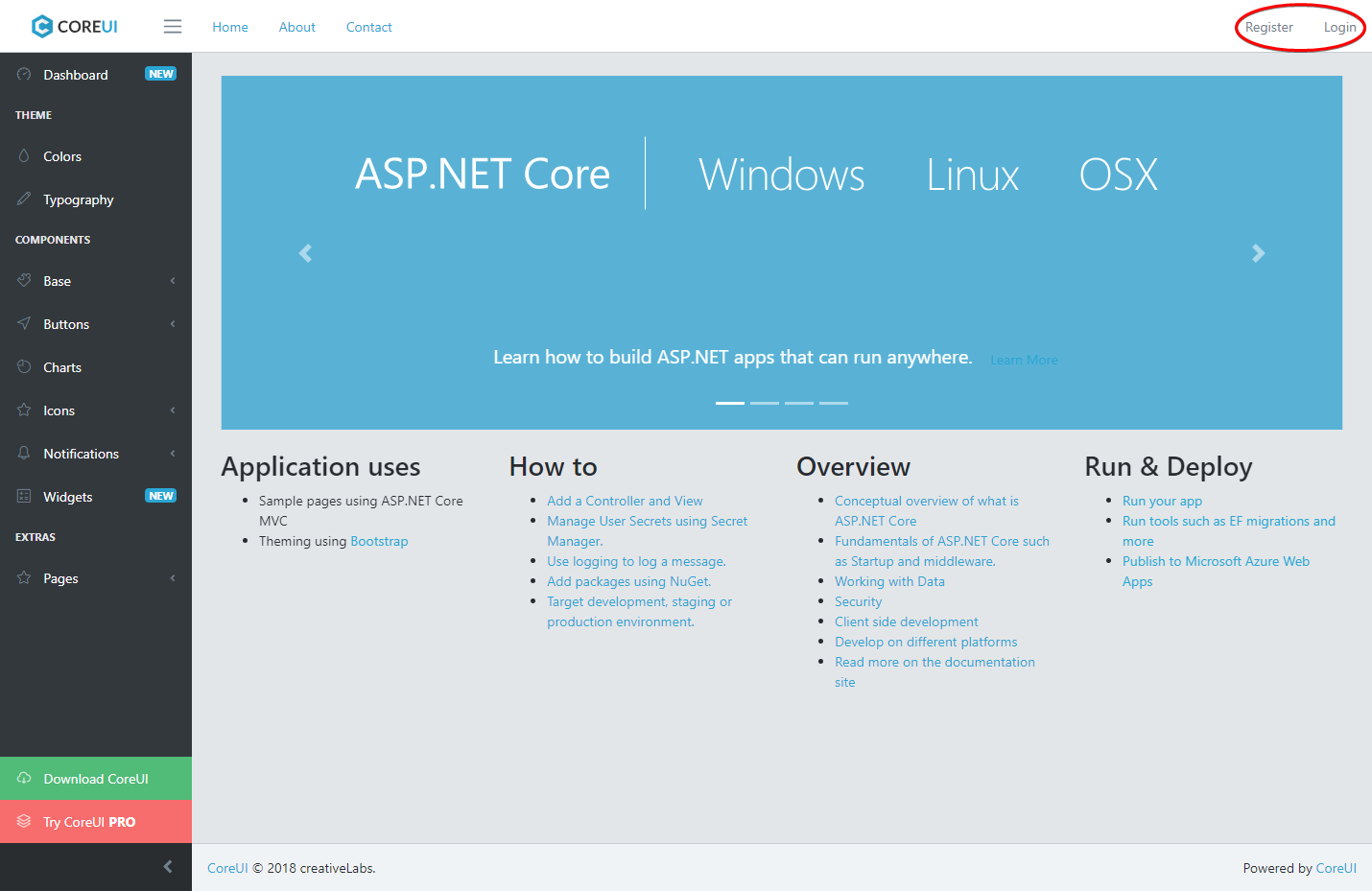 Building elegant applications with ASP.NET Core MVC 2.1 and CoreUI 2 (Bootstrap 4) /posts/images/chrome_2018-05-21_13-23-35.png