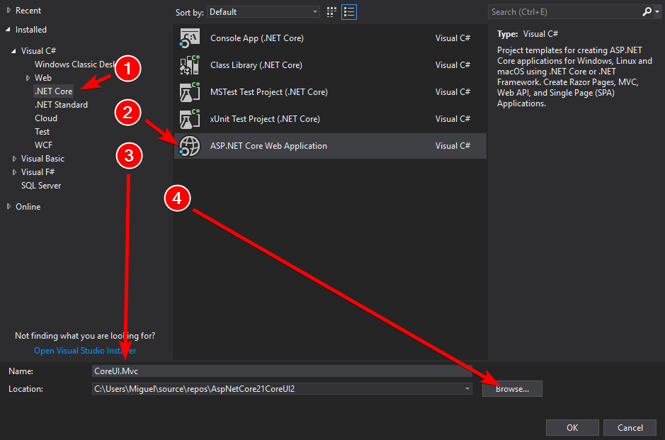 Building elegant applications with ASP NET Core MVC 2 1 and