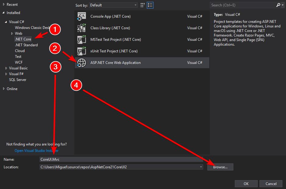 Construyendo aplicaciones elegantes con ASP.NET Core MVC 2.1 y CoreUI 2 (Bootstrap 4) /posts/images/devenv_2018-04-08_14-25-47.png