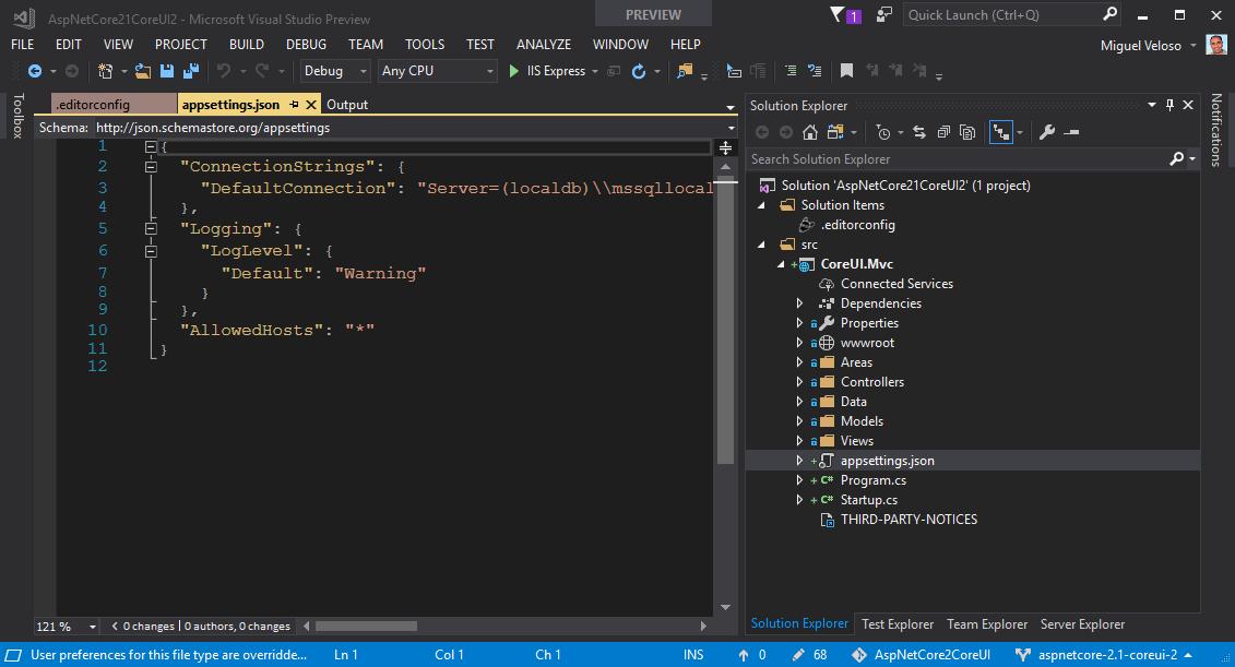 Construyendo aplicaciones elegantes con ASP.NET Core MVC 2.1 y CoreUI 2 (Bootstrap 4) /posts/images/devenv_2018-04-25_19-48-08.png